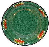 Блюдо 4,5л Клубника садовая изум.с зерн. (СтальЭмаль, Россия)
