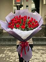 Голландские розы красные