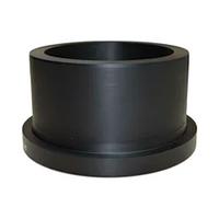 Втулка фланцевая ПНД 90 мм литая удлиненная