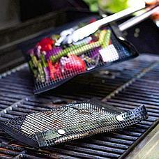 Антипригарный конверт-сетка для барбекю 33.5x27 см Летняя распродажа!, фото 3