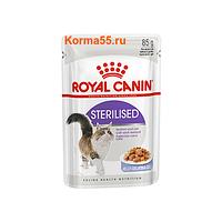 Роял Канин - Royal Canin Sterilised влажный корм в соусе для взрослых стерилизованных кошек