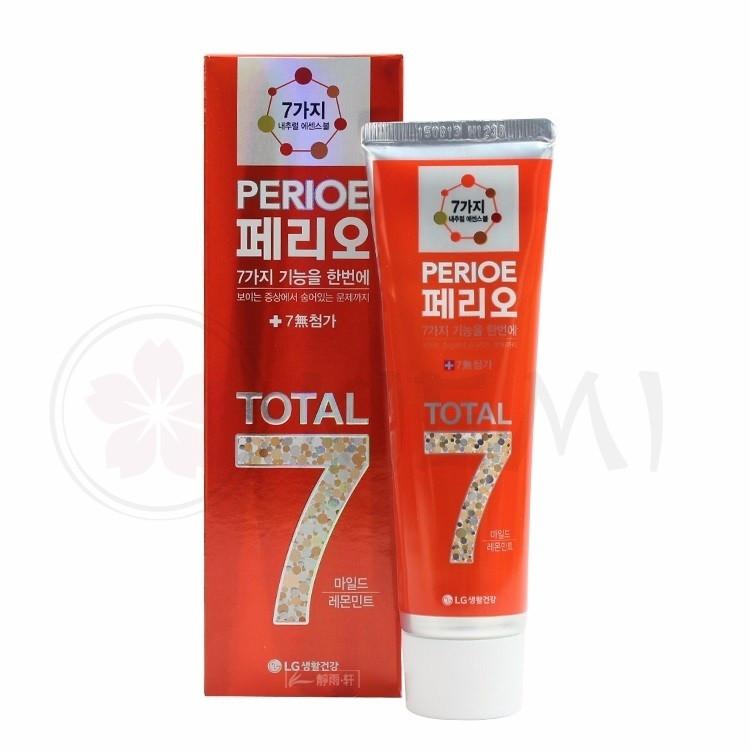 LG Perioe Зубная паста для чувствительных зубов и дёсен Total 7 Sensitive / 120 мл.