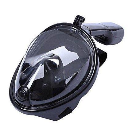 Маска для подводного  плавания (сноркелинга) с креплением для экшн камер, фото 2