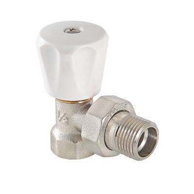 """Клапан радиаторный регулирующий угловой (компактный) 1/2"""" VALTEC"""