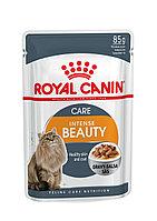 Роял Канин - Royal Canin Pouch Intense Beauty для красоты кожи и шерсти 85гр