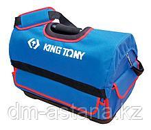 KING TONY Сумка для инструментов, 550х285х370 мм, 39 карманов, водонепроницаемый нейлон KING TONY 87711C