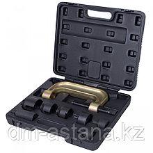 МАСТАК Набор оправок для монтажа и демонтажа сайлентблоков MB, кейс, 8 предметов МАСТАК 110-20008C