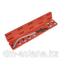 МАСТАК Набор ключей для натяжения ремня, 12-19 мм, кейс, 10 предметов МАСТАК 103-20116C