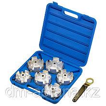 МАСТАК Набор съемников масляных фильтров, 7 предметов МАСТАК 103-40007C