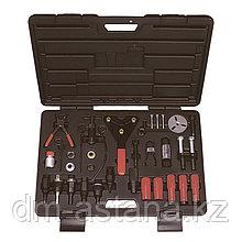 МАСТАК Набор для обслуживания компрессора кондиционера, кейс, 37 предметов МАСТАК 105-30037C
