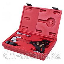 МАСТАК Набор для обслуживания компрессора кондиционера, кейс, 8 предметов МАСТАК 105-30008C
