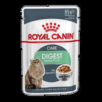 Роял Канин - Royal Canin Digest Sensitive влажный корм для кошек с чувствительным пищеварением 85гр.