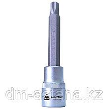 """МАСТАК Насадка (бита) торцевая 1/2"""", TORX, T52, L = 140 мм, для ГБЦ VAG МАСТАК 103-16052"""