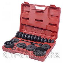 МАСТАК Набор оправок для монтажа и демонтажа ступичных подшипников, кейс, 22 предмета МАСТАК 100-30022C