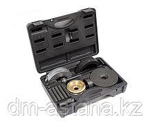 МАСТАК Набор оправок для монтажа и демонтажа ступичных подшипников, кейс, 16 предметов МАСТАК 100-30016C