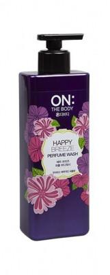 LG On: the body Парфюмированный гель для душа Happy Breeze Perfume Wash / 500 мл.