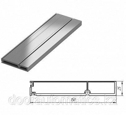 Профиль алюминиевый наличник 150мм для встроенного монтажа