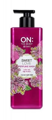 LG On: the body Парфюмированный гель для душа Sweet Love Perfume Wash / 500 мл.