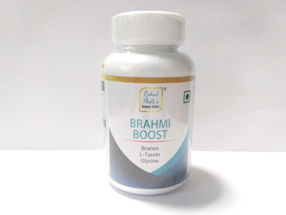 Капсулы Brahmi Boots, Rahul. 60 кап, глубоко уравновешивают, успокаивают и уменьшают беспокойство