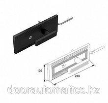 Комплект замка одностороннего для секционных ворот, 240х380х470