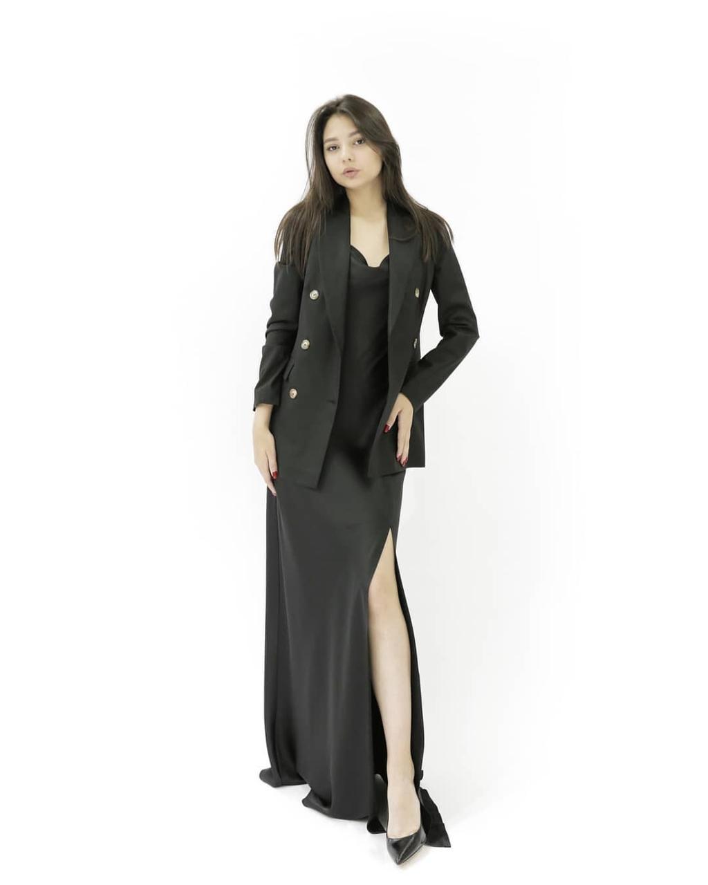 Трендовое платье Hanym (комбинация)