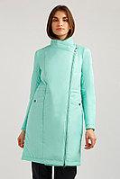 Пальто женское Finn Flare, цвет светло-зеленый, размер M