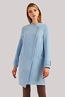 Пальто женское Finn Flare, цвет светло-голубой, размер L