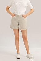 Шорты женские Finn Flare, цвет серый, размер 2XL