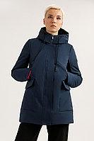 Полупальто женское Finn Flare, цвет темно-синий, размер L