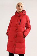 Пальто женское Finn Flare, цвет красный, размер XS