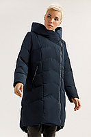 Пальто женское Finn Flare, цвет темно-синий, размер 3XL