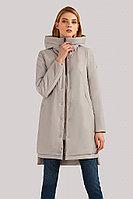 Пальто женское Finn Flare, цвет светло-серый, размер 3XL