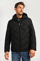 Куртка мужская Finn Flare, цвет черный, размер 2XL