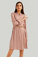 Платье женское Finn Flare, цвет пепельно-розовый, размер L