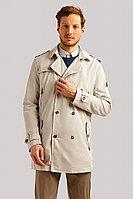 Плащ мужской Finn Flare, цвет серый, размер 3XL