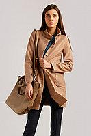 Пальто женское Finn Flare, цвет светло-коричневый, размер 2XL