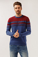 Джемпер мужской Finn Flare, цвет темно-синий, размер L