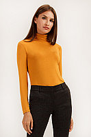 Джемпер женский Finn Flare, цвет желтый, размер XL