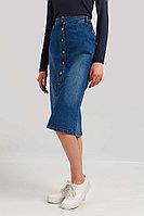 Юбка женская Finn Flare, цвет синий, размер S