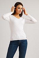 Джемпер женский Finn Flare, цвет белый, размер XL