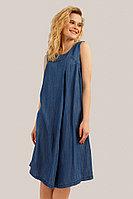 Платье женское Finn Flare, цвет голубой, размер 2XL