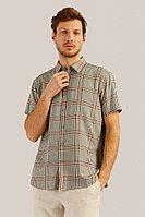 Рубашка мужская Finn Flare, цвет cement (серо-зеленый), размер 4XL
