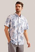 Рубашка мужская Finn Flare, цвет белый, размер S