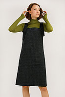 Платье (сарафан) трик женское Finn Flare, цвет темно-синий, размер XS