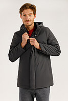 Полупальто мужское Finn Flare, цвет темно-серый, размер XL