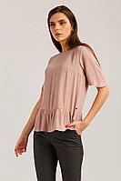 Блузка женская Finn Flare, цвет пепельно-розовый, размер 2XL