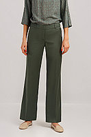 Брюки женские Finn Flare, цвет темно-зеленый, размер XL