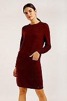 Платье женское Finn Flare, цвет гранатовый, размер S