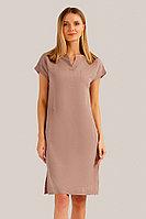 Платье женское Finn Flare, цвет светло-коричневый, размер 2XL