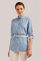 Блузка женская Finn Flare, цвет голубой, размер L